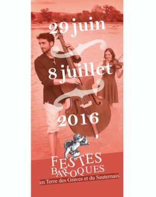Création d'un flyer pour l'édition 2016 des