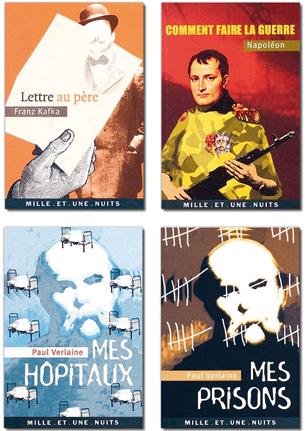 Illustrations de couvertures pour les Éditions Mille et Une Nuits.Illustrations réalisées chez Rampazzo & AssociésVoir les couvertures —>