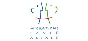 Création d'une identité graphique et d'une plaquette illustrée pour Migrations Santé Alsace, 2011.Voir la plaquette —>