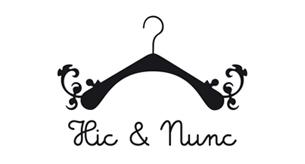 Création du logo, des affiches de la charte graphique du site internet de Hic & Nunc, concept de boutique éphémère à Strasbourg, 2009-2010.Voir les déclinaisons —>Voir le site —>