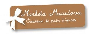 Conception d'une carte de visite —> pour Marketa Macudova, créatrice de pain d'épices.