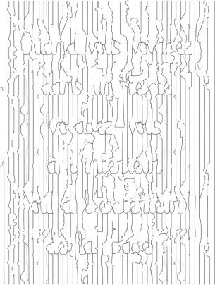 Création d'un caractère typographique à partir des lignes de démarcation des fuseaux horaires sur une carte du monde. Voir en grand —>