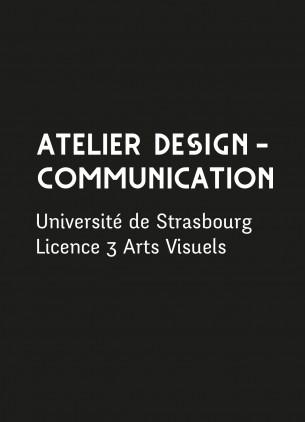 Enseignante à l'Unistra depuis 2013, j'anime l'atelier Design communication auprès des L3. Nous travaillons sur l'identité visuelle, la charte graphique et la mise en page. Voir des projets d'étudiants —>